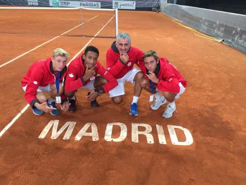 Junior Davis Cup team